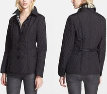 2015 New design wholesale fashion black ladies quilted jacket  Best Seller follow this link http://shopingayo.space
