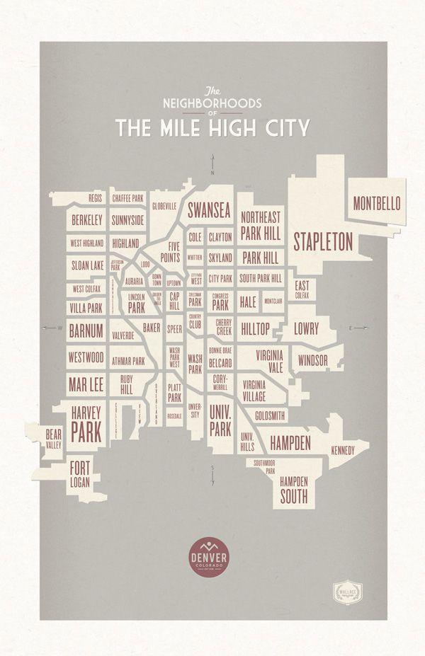 Denver Neighborhoods - looks like any of the University BLANKS will work, Wash Park, Virginia Village, and Cory-something
