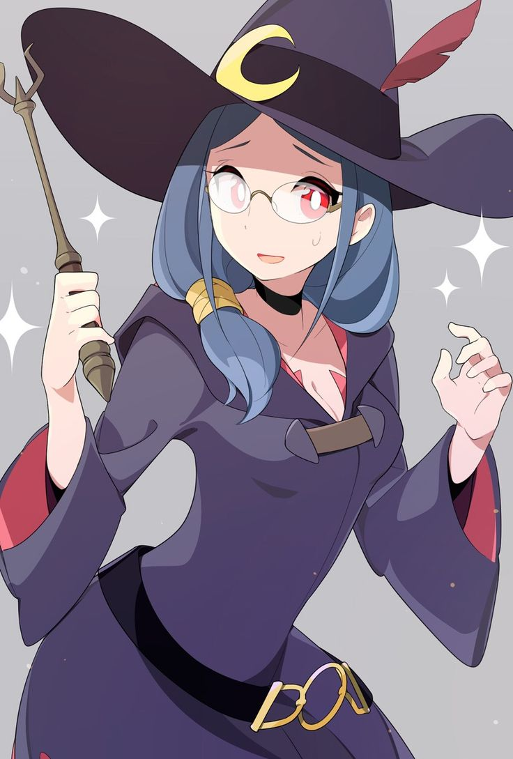 little witch academia hentai