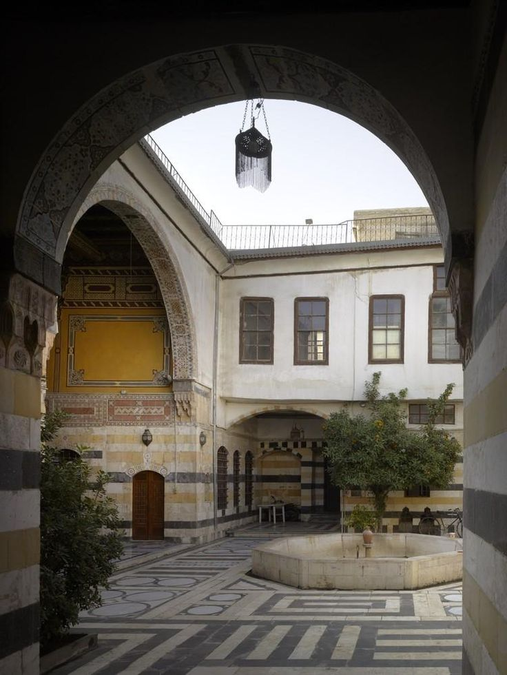 29 best images about spaces syria on pinterest for The damascus house