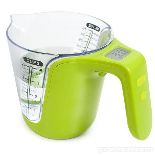 digital measuring jug and scales