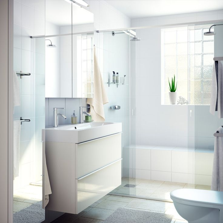 134 Best IKEA Badezimmer   Spa Images On Pinterest | Bathroom Ideas,  Bathroom Storage And Room