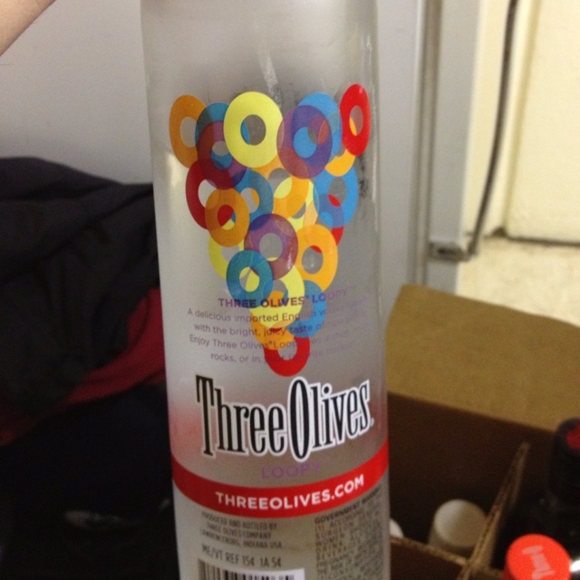 Fruit loop vodka. i want to try this!