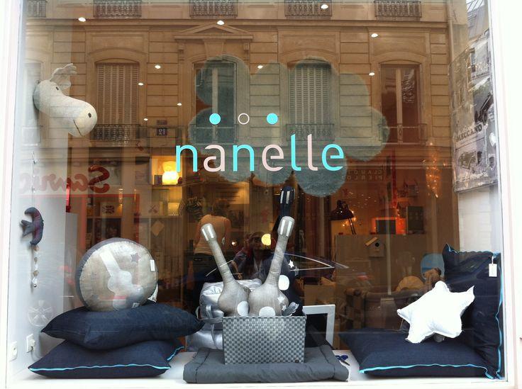 Vitrine Nanelle octobre 2013, new collection