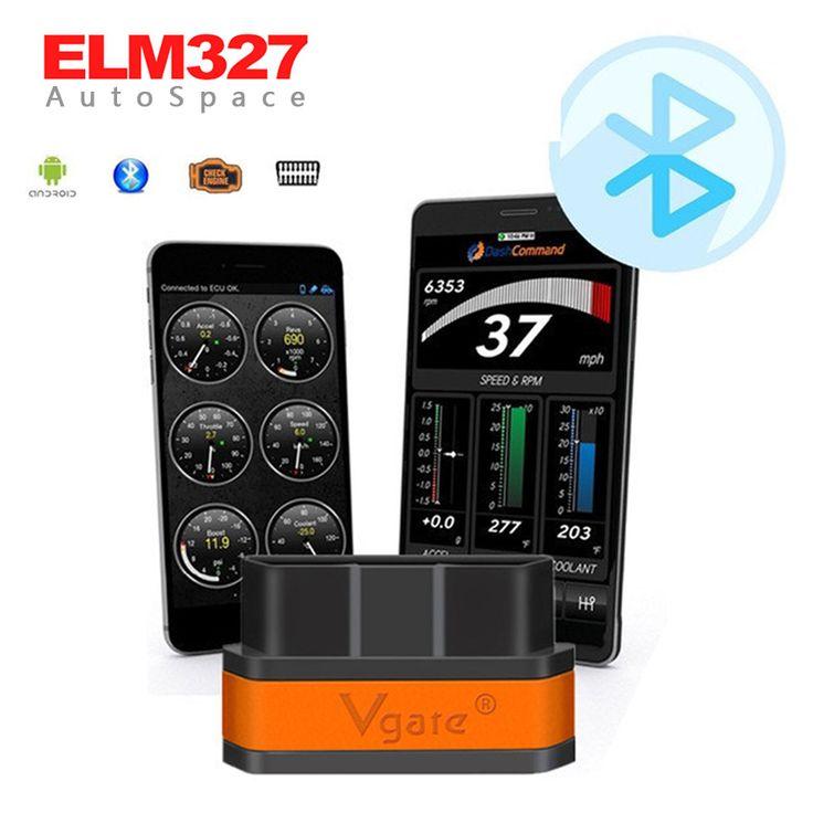OLMO 327 V2.1 Vgate Bluetooth WIFI iCar 2 II OBDII Lector Del Coche escáner ELM327 iCar2 Bluetooth WI-FI OBD Auto OBD2 EOBD Scan V 2.1