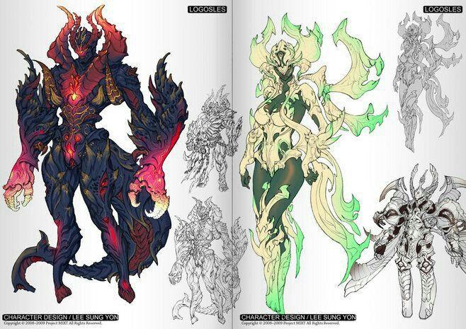 Concept Art Fantasy Monster Hunter
