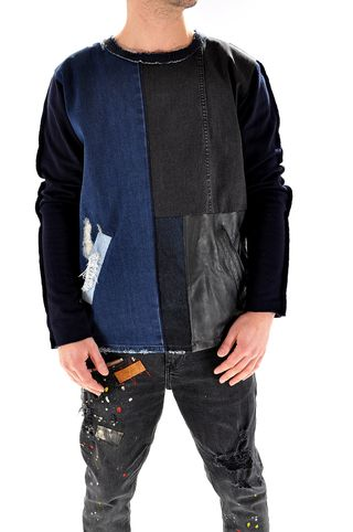 Bluza handmade pentru barbati U3207, marca Different Cut