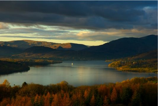 Winderemere in the Lake District, England. HA. August, I can't wait!