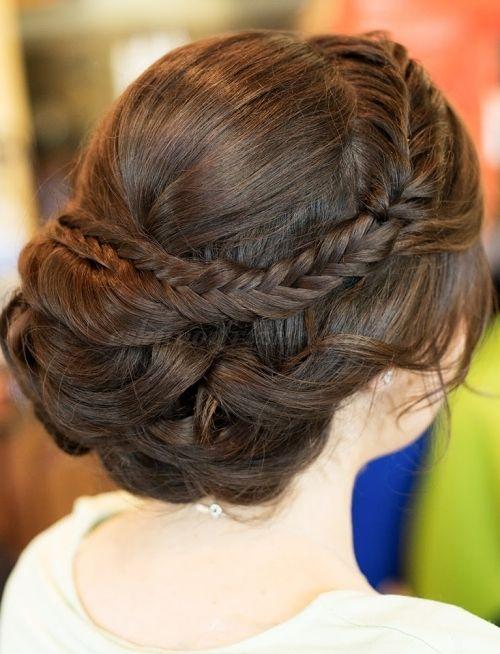 beautiful vintage wedding hair-steph