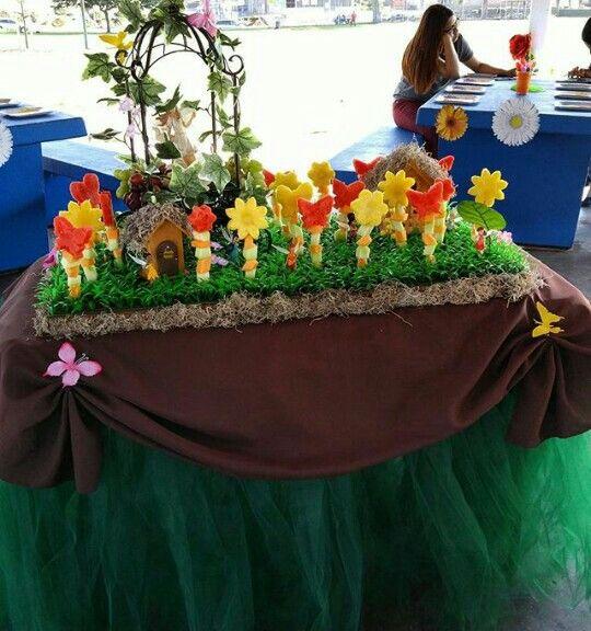 Fairy fruit table