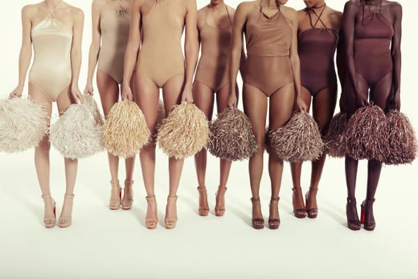 Christian Louboutin, seven shades of nude