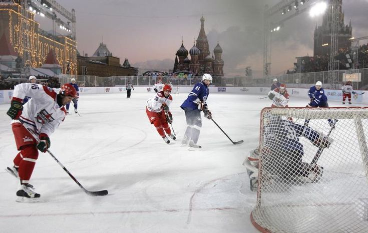 I want to play in front of the Kremlin!