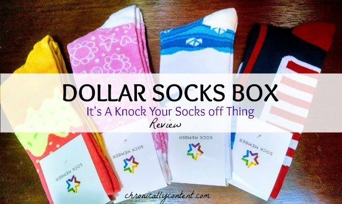 Dollar Socks Box will Knock your Socks Off Review: The best $1 socks you'll ever see! These high quality socks subscription service will make you smile!