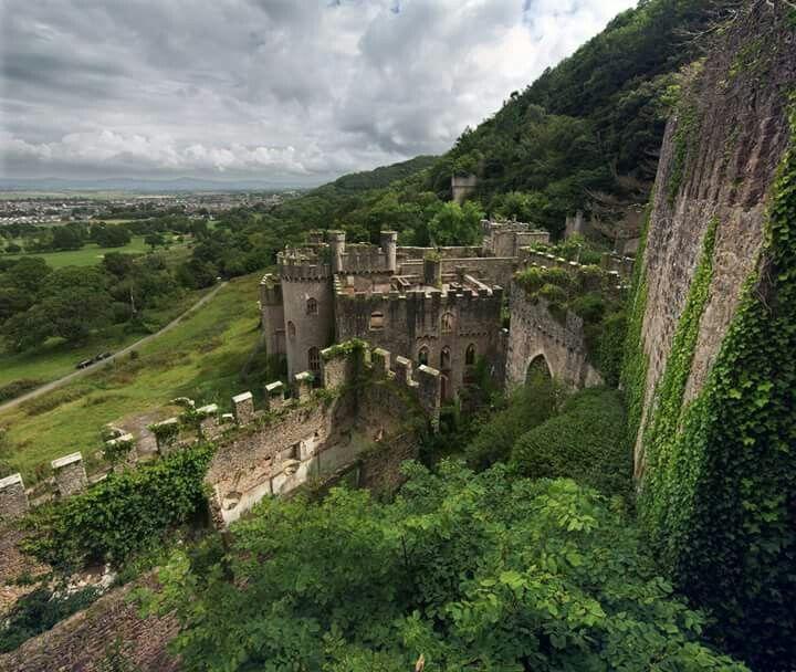 Gwrych Castle (near Abergele, Conwy, North Wales)