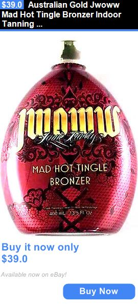 Tanning Lotion: Australian Gold Jwoww Mad Hot Tingle Bronzer Indoor Tanning Bed Lotion BUY IT NOW ONLY: $39.0