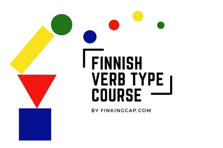 One of the best ways of getting some structure in your Finnish language studies is to lear the 6 verb types. The verb types will keep coming up as you progress and learn more complicated constructions. Any questions about the course, let me know!