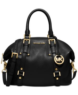 MICHAEL KORS Bedford Belted Medium Satchel - Check it out in MERLOT!!!