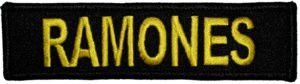 Ramones Logo Patch