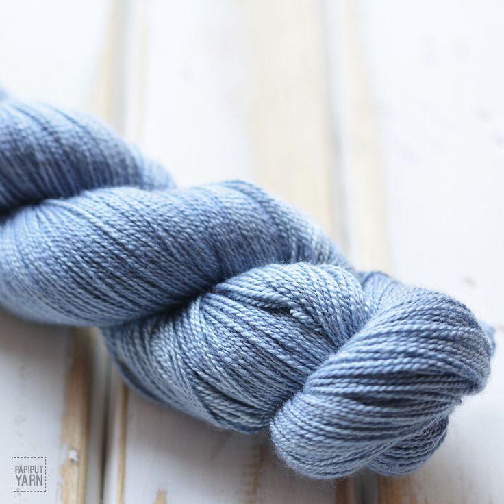 Hand Dyed Silky Merino Lace Yarn - Arafuru by PapiputYarn on Etsy https://www.etsy.com/listing/252113348/hand-dyed-silky-merino-lace-yarn-arafuru