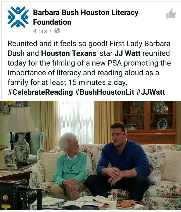 JJ Watt Foundation Facebook Re-Post 4.19.16
