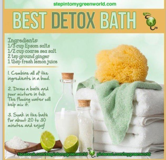 Detox Bath---Yes----I love a good long soak!