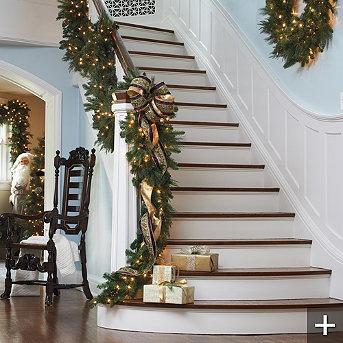 1000 ideas about pre lit garland on pinterest light garland pre lit christmas garland and. Black Bedroom Furniture Sets. Home Design Ideas
