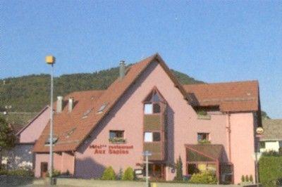 Hôtel-restaurant Aux Sapins - Thann - #Alsace