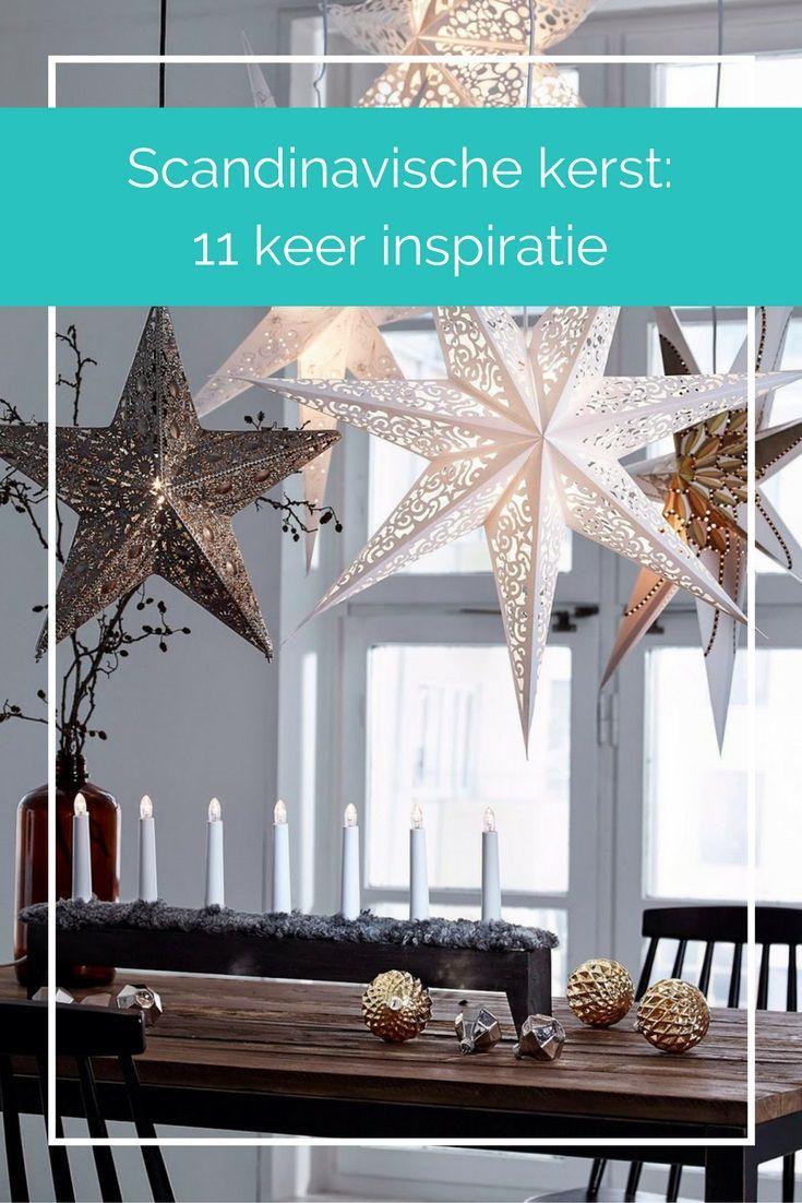 In dit blog zie je inspirerende foto's voor een kerst met én zonder kerstboom. Ook heb ik een paar voorbeelden verzameld van accessoires die je kunt gebruiken voor een huis in Nordic style.