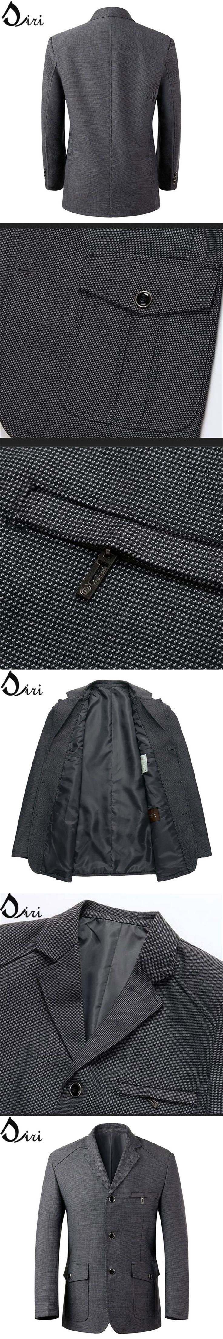 TOP Quality! Famous Brand Formal Jackets Blazers Men ,Wedding Dress, Men's Business Suit, Office Suit Jacket, Gray Stage Clothes