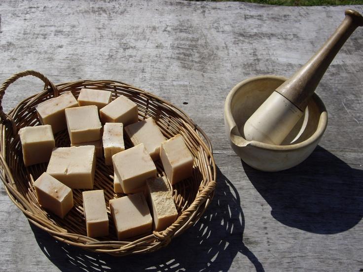 Home made - milk based soap by Carolann