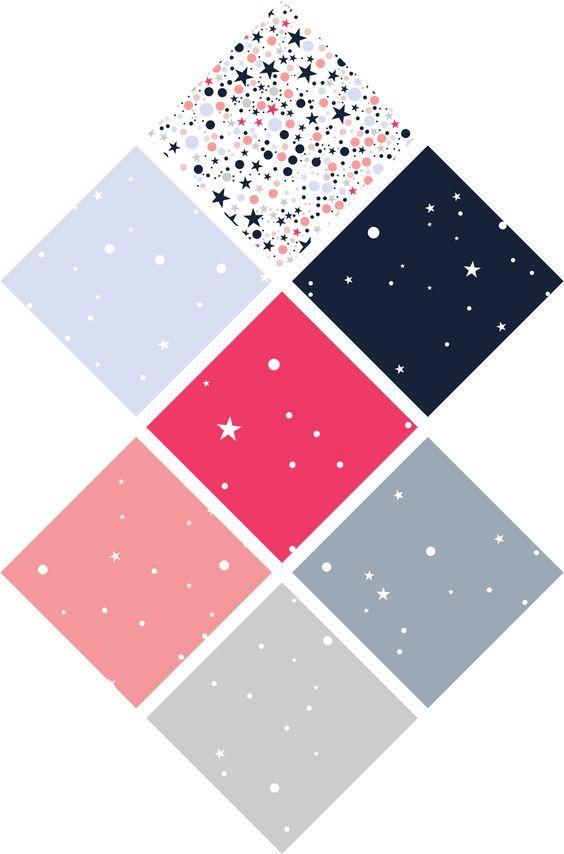 Les papiers/motifs étoilés à imprimer