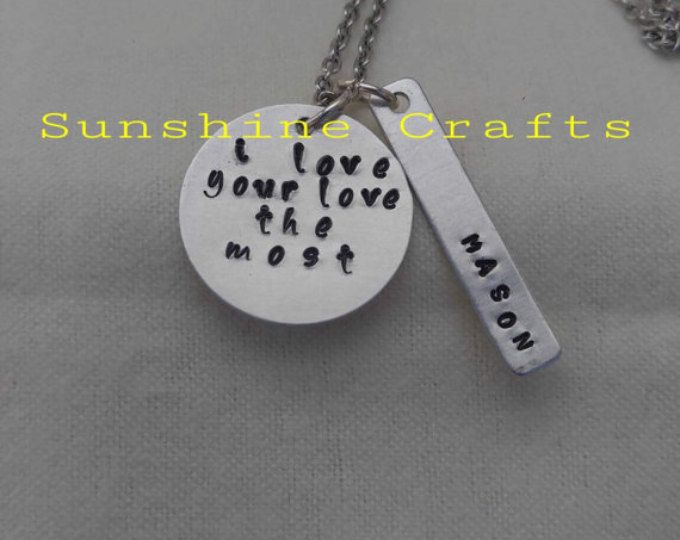 Show your love forever with this custom necklace inspired by the Eric Church song, $10