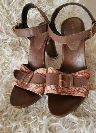 Kaufe meinen Artikel bei #Kleiderkreisel http://www.kleiderkreisel.de/damenschuhe/sandalen/160957917-sandalen-braun-rosa