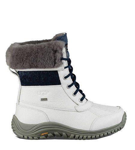 UGG  Adirondack Boot II White