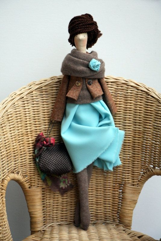 One Custom Doll from Made by Agah by madebyagah on Etsy
