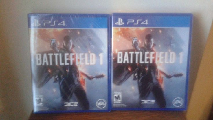 Item in the photo is the item being sold. Price is for one copy of the game. #sealed #brand #playstation #sony #battlefield