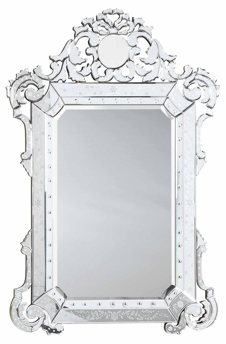 428 best accessories images on pinterest wall mural custom crowning glory this etched and carved venetian style mirror looks just as good in amipublicfo Images