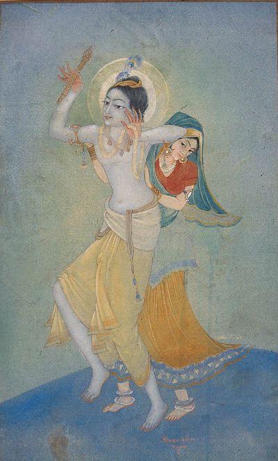 Sarada Ukil - Krishna and Radha