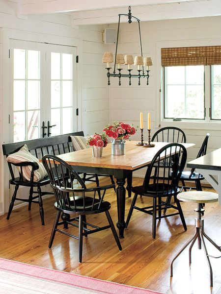 This Farm Style Table Is Perfect For Family Gatherings And