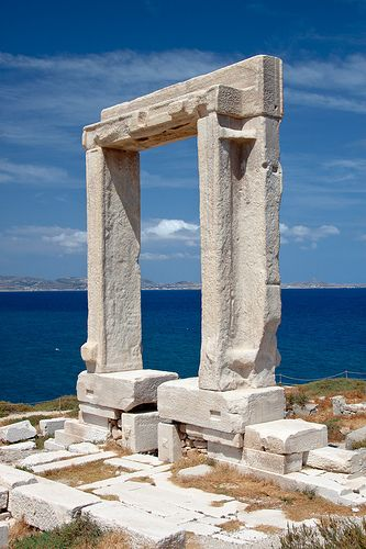 Apollo's Temple,Delos Island,  Greece.
