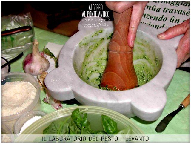 Levanto - Il Laboratorio del Pesto - Albergo Al Ponte Antico Carrodano - La Spezia - Liguria