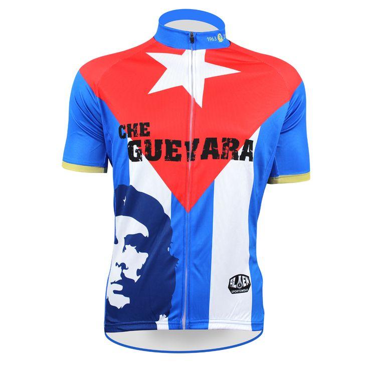 Пионеры че гевара синий чужой спортивная одежда мужские езда на велосипеде джерси езда на велосипеде одежда велосипед рубашка размер 2XS к 5XL