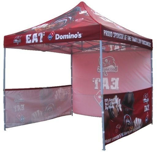 Pop Up Tent 3m x 3m w/ Back Wall u0026 2 x Half Walls - Premium high quality and durable tent that is very easy to set up in approximately 2 minutes.  sc 1 st  Pinterest & 25 best Branded Pop-Up Tents images on Pinterest | Pop up tent ...