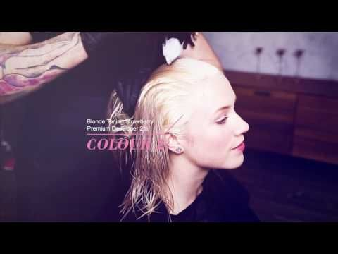 Пастель плавления с  BLONDME - YouTube-Colour 1: BLONDME Premium Lightener 9+ with BLONDME Premium Developer 2% 7 Vol. (1:2)          Colour 2: BLONDME Blonde Toning Lilac 1:1 with BLONDME Premium Developer 2% Vol.          Colour 3: BLONDME Blonde Toning Strawberry 1:1 with BLONDME Premium Developer 2% Vol.