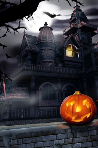 Halloween Night..iphonehdwallpaper.com