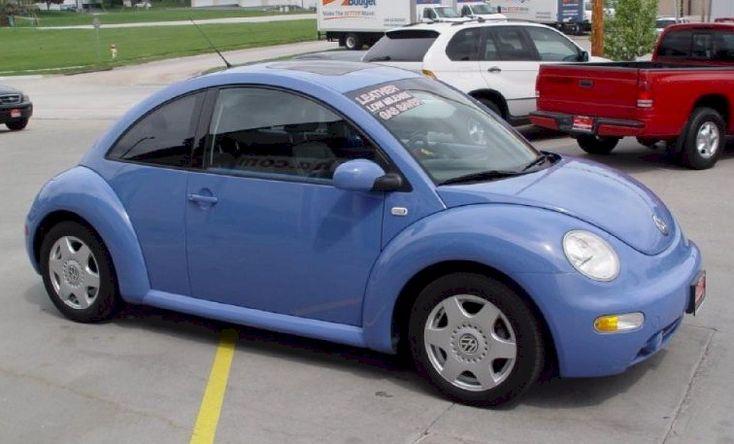 Example of vortex blue paint on a 2001 volkswagen beetle - 2001 volkswagen beetle interior parts ...