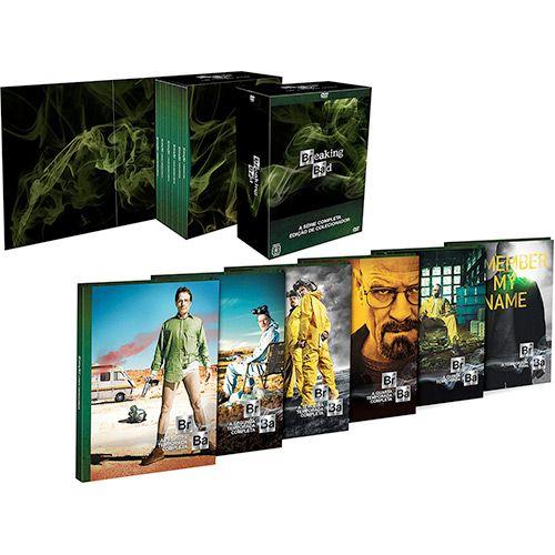 Coleção Dvd Breaking Bad - A Química do Mal - A Série Completa (21 discos)