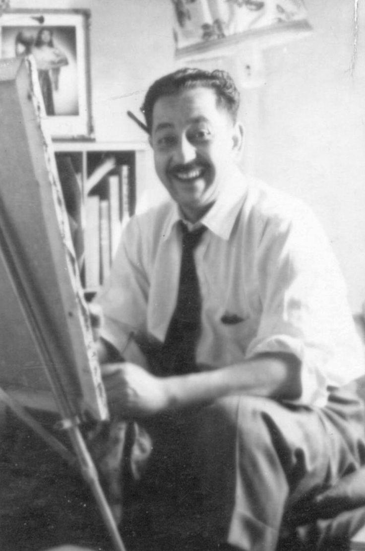 Pedro Lobos (1919-1968) Pintor, Grabador y Muralista Chileno.
