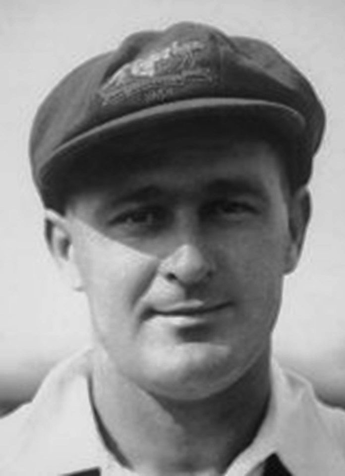 147-Leonard Stuart Darling played in 12 Tests. He bolstered Australia's for the last two Tests of the Bodyline series at Brisbane and Sydney and his 85 in Sydney was top score. He played the first 4 Tests in England in 1934 but achieved little. He had a better series in South Africa in 1935-36. Against England in 1936-37, he was only included for the New Year Test at Melbourne where he held two brilliant catches. He suddenly retired at the end of the season at age 27.