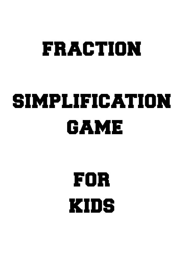 1000+ ideas about Simplifying Fractions on Pinterest   Equivalent ...